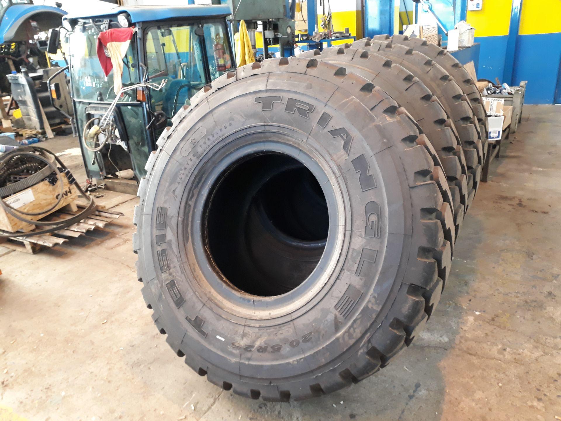 Pneuservis pro zemědělské stroje